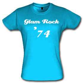 TShirt Glam Rock 1974